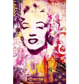 Fotoobraz - Marilyn Monroe city collage