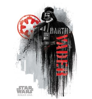 Plagát - Star Wars Rogue One (Darth Vader)