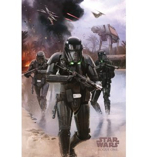 Plagát - Star Wars Rogue One (Death Troopers)