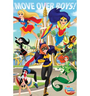 Plagát - DC Super Hero Girls