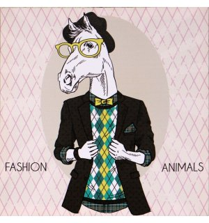 Obraz na plátne - Fashion Animal (kôň)