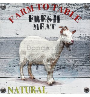 Obraz na plátne - Fresh Meat (Farm to Table)