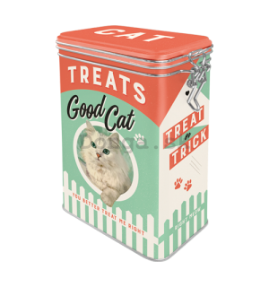 Plechová dóza - Good Cat Treats