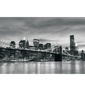 Fototapeta: Brooklyn Bridge - 184x254 cm