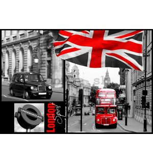 Fototapeta: LONDON Spirit - 184x254 cm