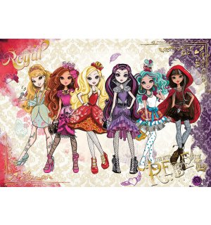Fototapeta: Mattel Ever After High (2) - 184x254 cm