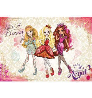 Fototapeta: Mattel Ever After High (3) - 184x254 cm