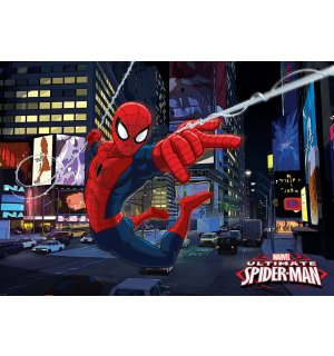 Fototapeta: Ultimate Spiderman - 184x254 cm