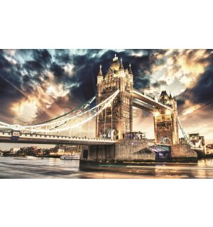 Fototapeta: Tower Bridge (3) - 184x254 cm
