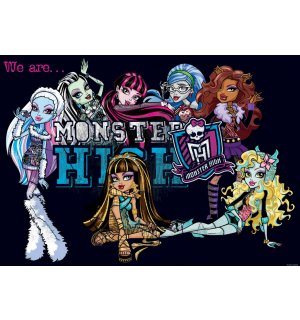 Fototapeta: Monster High (5) - 184x254 cm