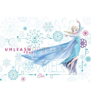 Fototapeta: Frozen Unleash your Power - 184x254 cm
