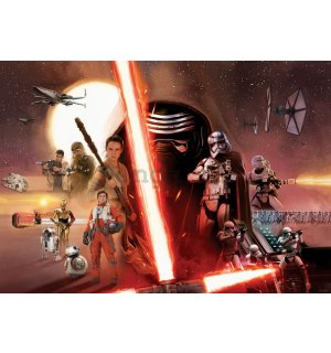 Fototapeta: Star Wars The Force Awakens (1) - 254x368 cm