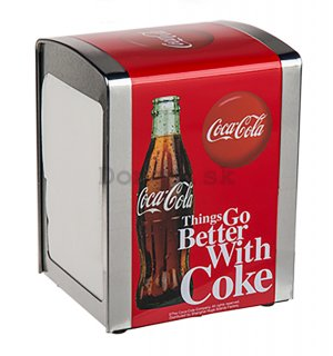 Stojan na obrúsky - Coca-Cola (Things Go Better With Coke)