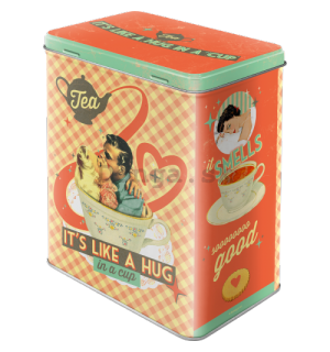 Plechová dóza - Tea It's Like A Hug in a Cup (Special Edition)