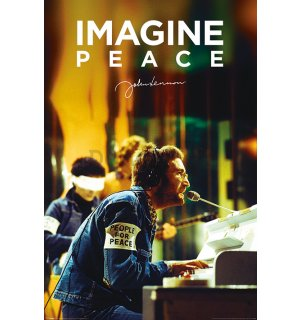 Plagát - John Lennon (Imagine Peace)