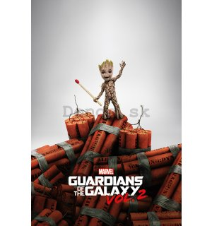 Plagát - Guardians of the Galaxy vol.2 (Groot)
