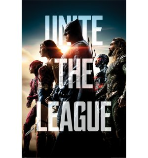 Plagát - Justice League (United the League)