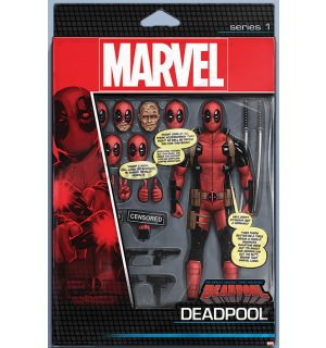 Plagát - Deadpool (Action Figure)