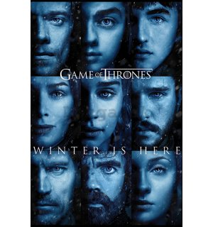 Plagát - Game of Thrones (Winter is Here)