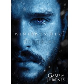 Plagát - Game of Thrones (Winter is Here - Jon)