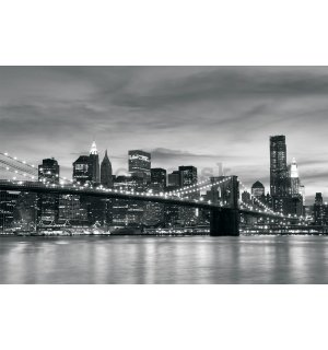 Fototapeta vliesová: Brooklyn Bridge - 152,5x104 cm