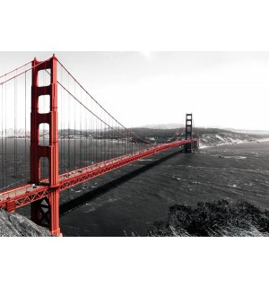 Fototapeta vliesová: Golden Gate Bridge (1) - 152,5 x 104 cm