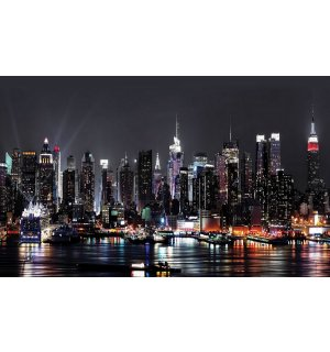 Fototapeta vliesová: New York at night (2) - 152,5x104 cm