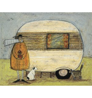 Obraz na plátne - Sam Toft, Home from Home