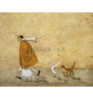 Obraz na plátne - Sam Toft, Ernest Doris Horace and Stripes