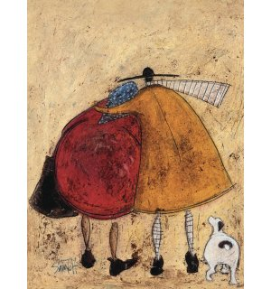 Obraz na plátne - Sam Toft, Hugs on the Way Home