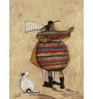 Obraz na plátne - Sam Toft, Dancing Cheek to Cheeky