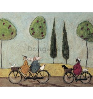 Obraz na plátne - Sam Toft, A Nice Day for It
