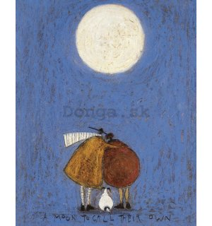 Obraz na plátne - Sam Toft, A Moon to Call Their Own