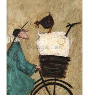 Obraz na plátne - Sam Toft, Taking the Girls Home