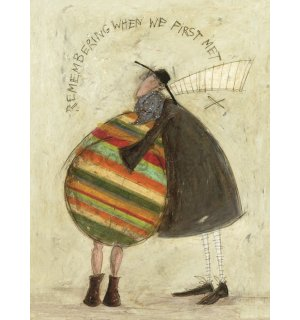 Obraz na plátne - Sam Toft, Remembering When We First Met