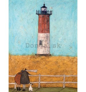 Obraz na plátne - Sam Toft, Feeling the Love at Nauset Light