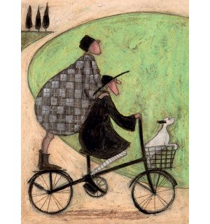 Obraz na plátne - Sam Toft, Double Decker Bike