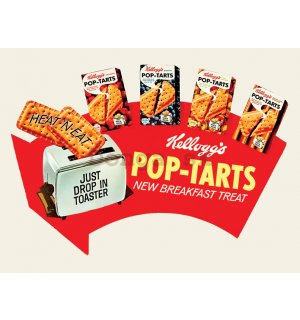 Obraz na plátne - Kellogg's, Pop Tarts - Arrow