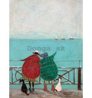 Obraz na plátne - Sam Toft, We Saw Three Ships Come Sailing