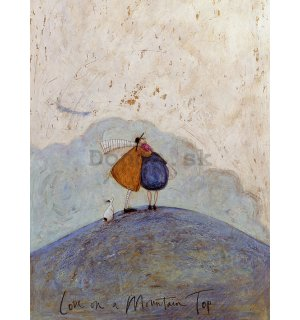 Obraz na plátne - Sam Toft, Love on a Mountain Top