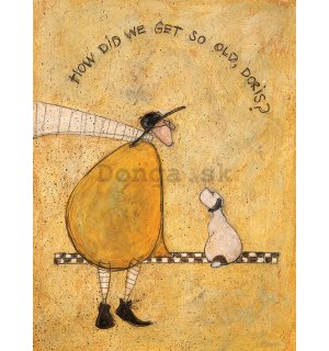 Obraz na plátne - Sam Toft, How Did We Get So Old, Doris?
