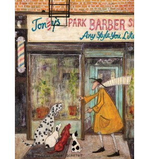 Obraz na plátne - Sam Toft, The Barber Shop Quartet