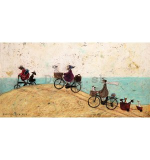 Obraz na plátne - Sam Toft, Electric Bike Ride