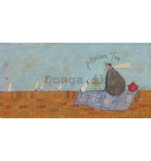 Obraz na plátne - Sam Toft, Afternoon Tea