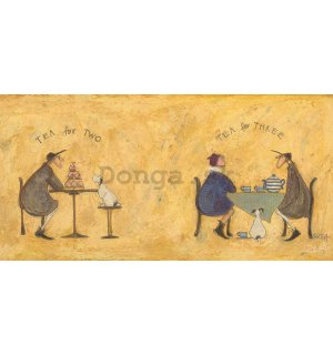 Obraz na plátne - Sam Toft, Tea For Two Tea For Three