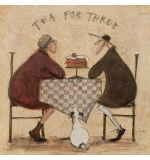 Obraz na plátne - Sam Toft, Tea For Three 2