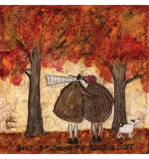 Obraz na plátne - Sam Toft, Just Beginning To See The Light