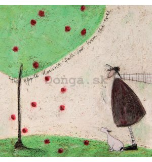 Obraz na plátne - Sam Toft, The Apple Doesn't Fall Far From Tree