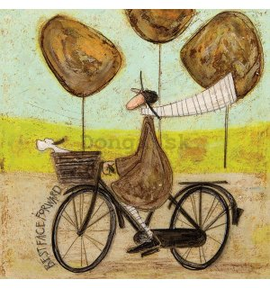 Obraz na plátne - Sam Toft, Best Face Forward
