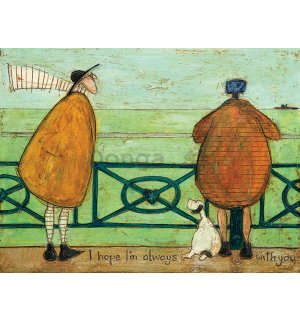 Obraz na plátne - Sam Toft, I Hope I'm Always with You